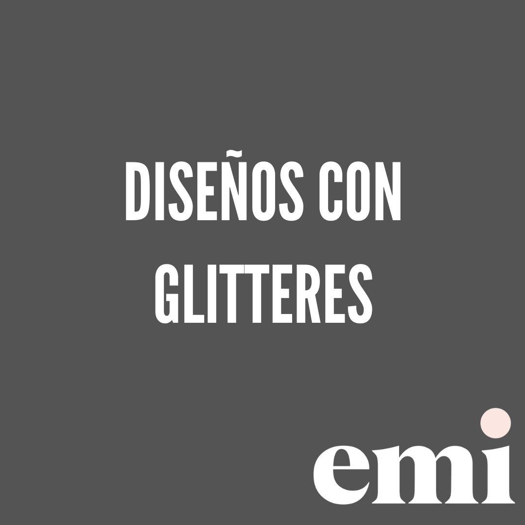 cursos express emi diseño glitteres
