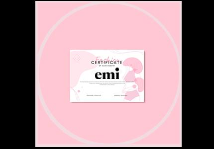 certificado oficial escuela emi